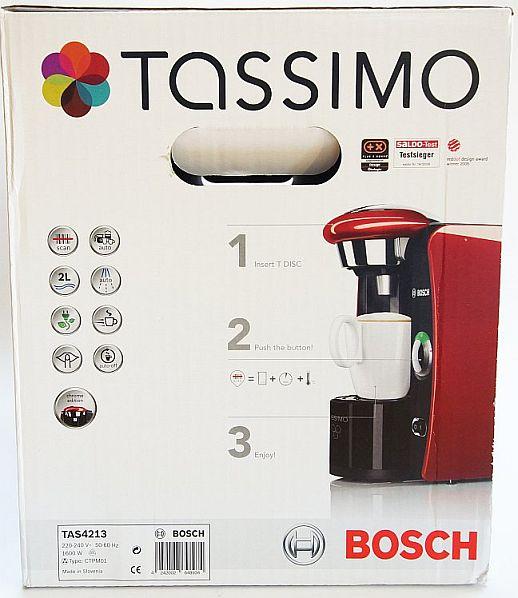 bosch tassimo t42 tas4213 chrome edition in stylischem. Black Bedroom Furniture Sets. Home Design Ideas